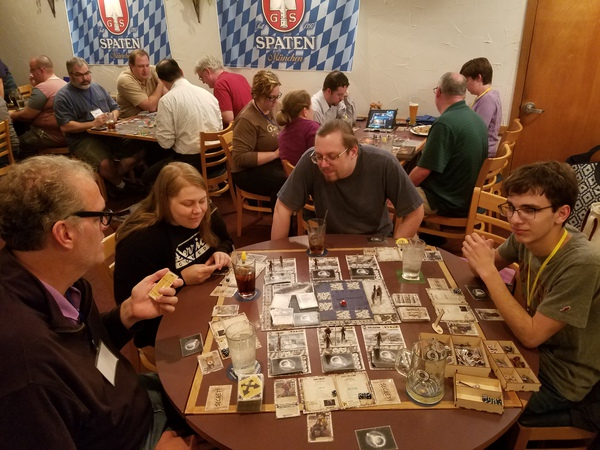 Beer and Boardgames at the Waldhorn